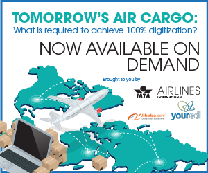 Tomorrow's air cargo: what is required to achieve 100% digitization
