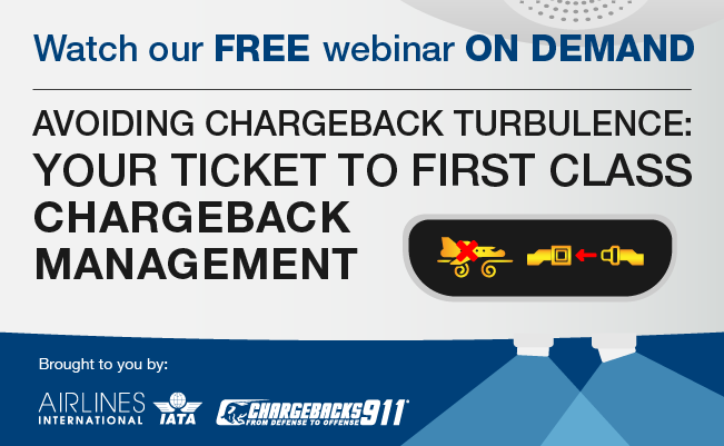 Avoiding chargeback turbulence webinar on demand