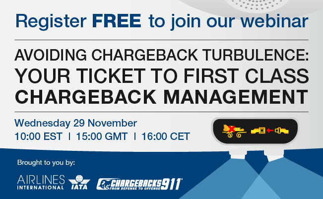 Avoiding Chargeback Turbulence: Your Ticket to First Class Chargeback Management