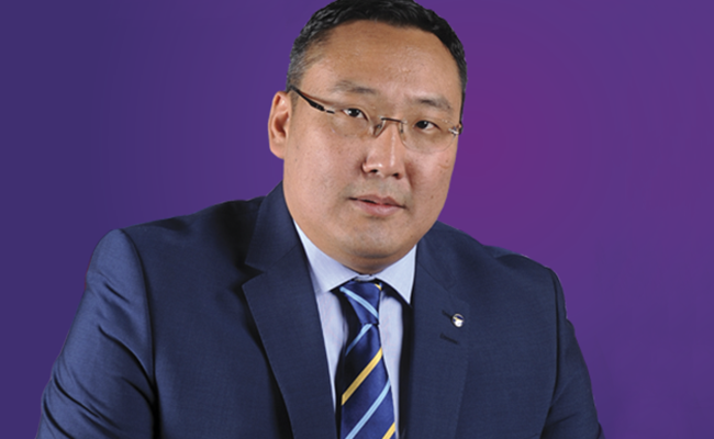 Tamir Tumurbaatar, President and CEO of MIAT Mongolian Airlines